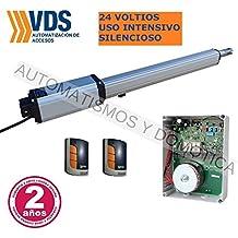 Kit profesional motor puerta batiente VDS Linear 24v. uso intensivo, silencioso, cancelas hasta