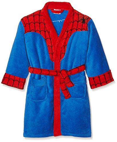 Spiderman Captain America Marvel Luxus Kinder Bademantel Spiderman 2