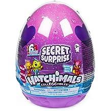 Hatchimals 6047125 - CollEGGtibles Secret Surprise Spielset, 3 Ebenen, 3 exklusive Hatchimals-Figuren, exklusives Zubehör, 6 verschiedene Sets