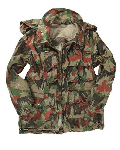 Swiss Army Schweizer Armee ausgegeben alpenflage Camo Loadbearing Jacke Gr. Large, ALPENFLAGE CAMO