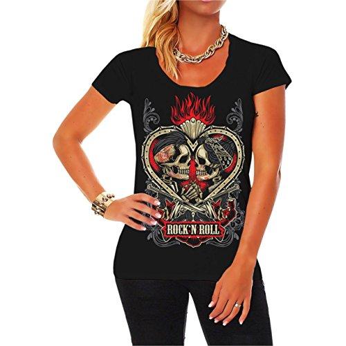 Spaß kostet Frauen und Damen T-Shirt Rockn Roll Rockabella Rockabilly Größe XS - 5XL