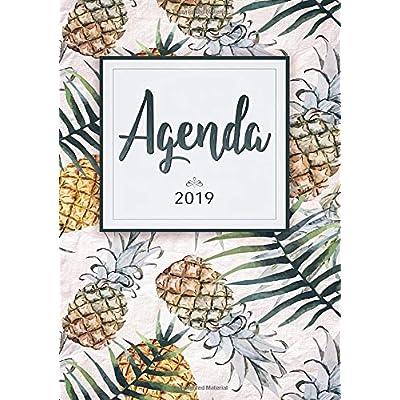 Agenda  2019: Pianifica I Tuoi Appuntamenti Quotidiani 14,8X21 Cm- Agenda Settimanale Con Calendario 2019 - Include Inspirational Citazioni Per Motivazione
