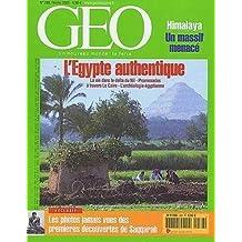 GEO N° 288 du 01-02-2003 L'EGYPTE AUTHENTIQUE - DELTA DU NIL - LE CAIRE - ARCHEOLOGIE - PHOTOS DES DECOUVERTES DE SAQQARAH - HIMALAYA / Livre BE