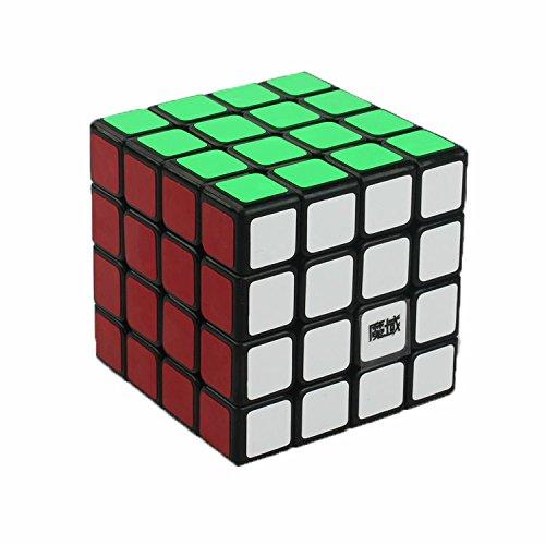 MoYu AoSu Magic Cube Puzzles Classic Toys Speed Layer Professional 4X4X4 cube magique Education apprentissage pour enfants (Noir)