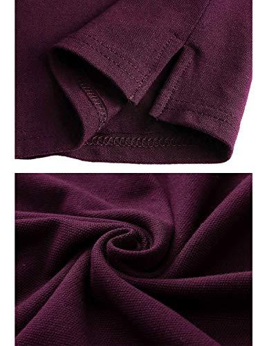 Zoom IMG-3 sttlzmc moda polo uomo manica