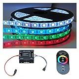 5-30m Komplettset RGB LED Stripe mit RF 64 Funk Controller (30m (6x 5m))