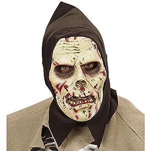 WIDMANN Máscara zombie con capucha adulto Halloween - Única