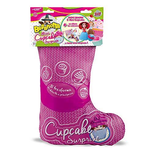 Grandi Giochi Mini Cupcake 2019 Calza Befanotta,, GG00042