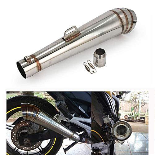 Un Xin Universal GP Acero Inoxidable Tubo de Escape silenciador Deslizante con...