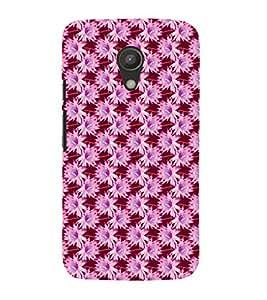 Vizagbeats Flower Patttern Back Case Cover for Motorola Moto G2