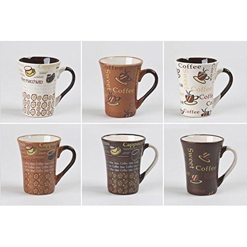 Table Passion - Tasse 15cl collector assorties (lot de 6)
