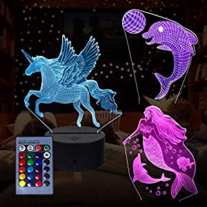 3D Animal Night Light, Lámpara
