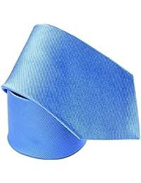 Cravate soie Little Club Bleu roi