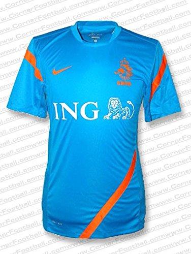 Nike - Holanda Camiseta ENTRENO AZ EURO12 Hombre Color: Azul Royal Talla: L