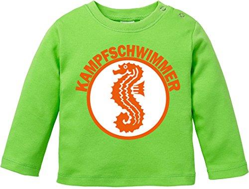Luckja Kampfschwimmer Baby Shirt Longsleeve (Test-kleinkind-t-shirt)