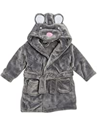 With baby design bathrobe with duck hood baby mouse Panda Face detail 6 - 12 12 - 18 18 - 24