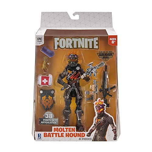Toy Partner-Molten Battle FNT-Fig.Battle Hound Legendary FNT0137, Multicolor (Jazwares, LLC