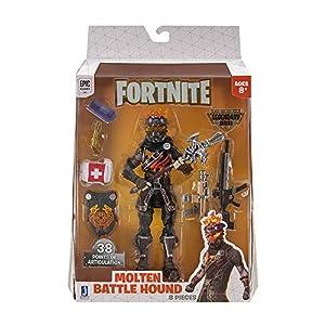 Toy Partner-Molten Battle FNT-Fig.Battle Hound Legendary FNT0137, Multicolor (Jazwares, LLC