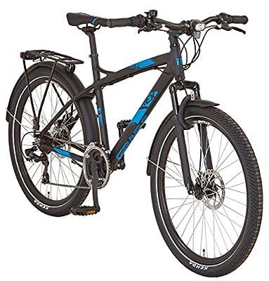 """REX Unisex- Erwachsene Graveler 9.3 ATB 26"""" Mountainbike schwarz RH 48 cm"""