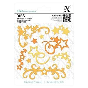 docrafts Xcut Star Flourish Dies (Pack of 10)