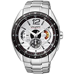 Vagary VS0-110-11 Crono VS - Wristwatch men's, stainless steel, Band Colour: multicolour