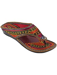 Rajasthani Jaipuri Partywear ethnic womens girls ladies slipper