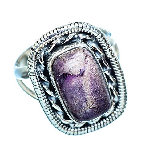 Tiffany Stone, Tiffany Stein 925 Sterling Silber Ring 8