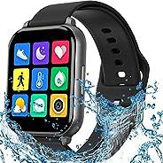ساعة ذكية مضادة للماء بمتعقب لياقة بدنية مع مراقبة معدل ضربات القلب وضغط الدم ومراقبة النوم وعداد خطوات وسعرات