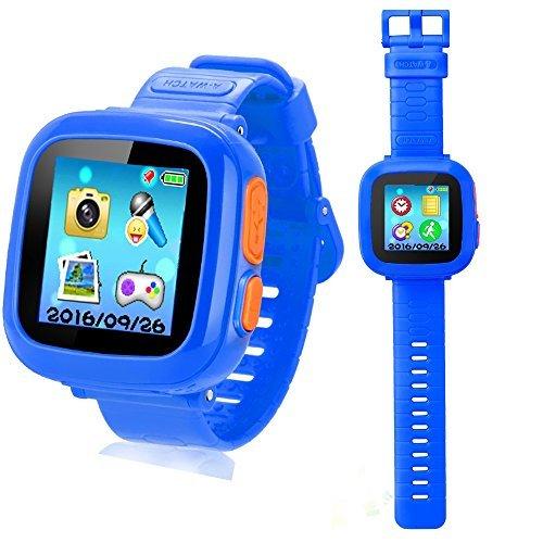 Digital-uhr Händen Den Mit (Smart Watch Armbanduhr für Kinder mit Digitalkamera Spiele Touchscreen, Coole Spielzeug Uhr Geschenke für Mädchen Jungen)