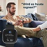 Fitbit Versa 2 - Gesundheits- & Fitness-Smartwatch mit Sprachsteuerung, Schlafindex & Musikfunktion, Schwarz/Carbon - 3