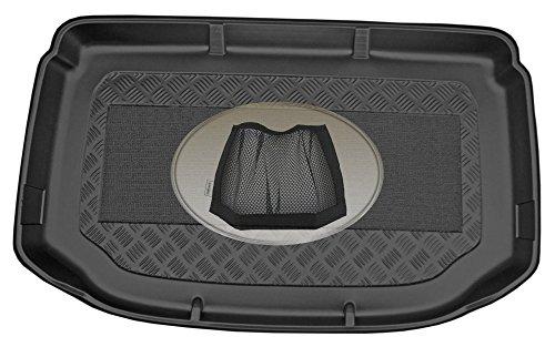 Preisvergleich Produktbild ZentimeX Z3030912 Kofferraumwanne + Klett-Organizer für Chevrolet Aveo 2 T300 Facelift Schrägheck Hatchback 5-türer 2016-