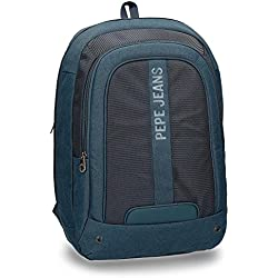 "Pepe Jeans Greenwich Blue Laptop 15,6"" Backpack"
