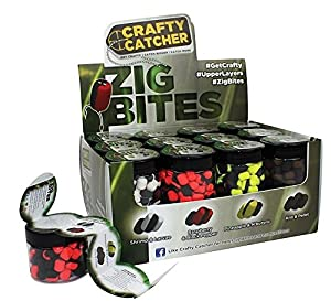 Zig-Rig Flavoured Pop-ups Quad-Pack Attractive Flavours Colours 4 x 20g from Copdock