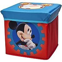 Preisvergleich für Delta Mickey Mouse Faltbarer Sitzhocker (Blau/Rot)
