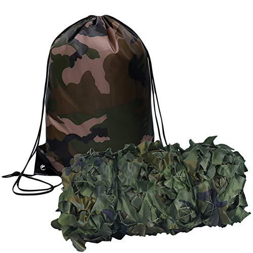 Tarnnetz,2 x 3 m,210D,Professionelles Tarnnetz,für Camping,Militär,Jagd,Schießen,Blindbeobachten,Verstecken,Party-Dekorationen