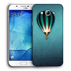 Snoogg Parachute Balloons Printed Protective Phone Back Case Cover For Samsung Galaxy Note 5