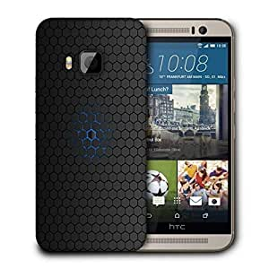 Snoogg Minimalistic Pattern Printed Protective Phone Back Case Cover For HTC One M9