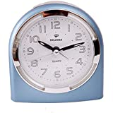 Dojana alarm clock-Blue-white -DA101