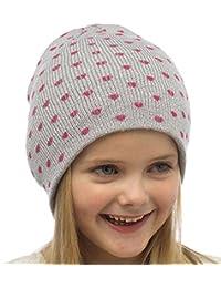 Coeur d'amour Beanie Hat Girl - 2 couleurs à choisir