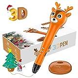 Nulaxy Reno Pluma 3D, 3D Pen Inteligente con Mensaje de Voz, Regalos de Navidad...