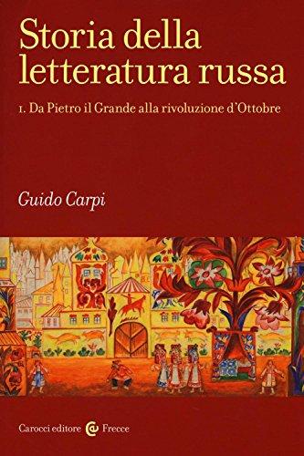 Storia della letteratura russa: 1 (Frecce) por Guido Carpi