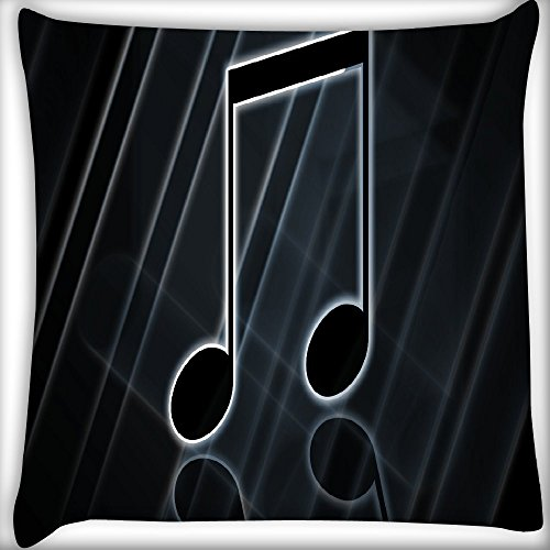 7304-serie (telecharger Note Musique Home Decor Werfen Sofa Auto Kissenbezug Kissen Fall 40,6x 40,6cm)