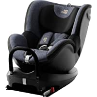 Britax Römer Reboarder Kindersitz 0 - 4 Jahre I 0 - 18 kg I DUALFIX 2 R Autositz Drehbar Isofix Gruppe 0+/1   Blue…