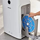 Philips Series 3000i 2-in-1 Purifier & Humidifier, removes 99.97% allergens & relieves Dry air discomfort, AC3829/60, Plastic, 1 W, White