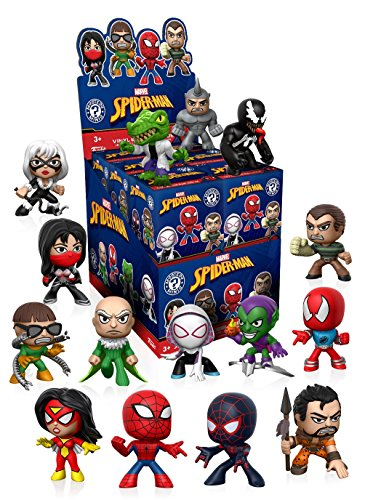 Funko - Figurine Marvel Spider-Man Mystery Minis - 1 boîte au hasard / one Random box - 0889698137959