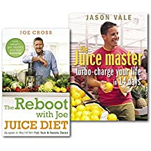 The Juice Master Juice Diet Collection 2 Books Set, (Jason Vale the Juice master turbo-charge your life in 14 days and The Reboot with Joe Juice Diet - Lose weight, get healthy and feel amazing: As seen in the hit film 'Fat, Sick & Nearly Dead'