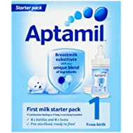 Aptamil 1 First Milk Ready Made from Birth Onwards Stage 1 Starter 70ml Pack Of 6
