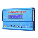FTVOGUE B6 80W Digital LCD Balance Charger Discharger Parallel Charging Board for LLiPo