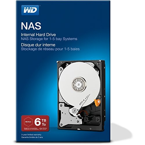 Price comparison product image WD 6 TB NAS Hard Drive
