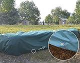 UniEco Winterschutz für Pflanzen Abdeckplane Gewebeplane 1.8x1.8m 30g/m2